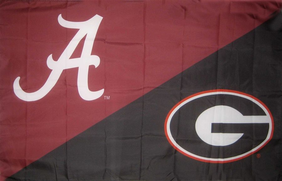 Alabama Georgia House Divided Flag House Divided Flags House