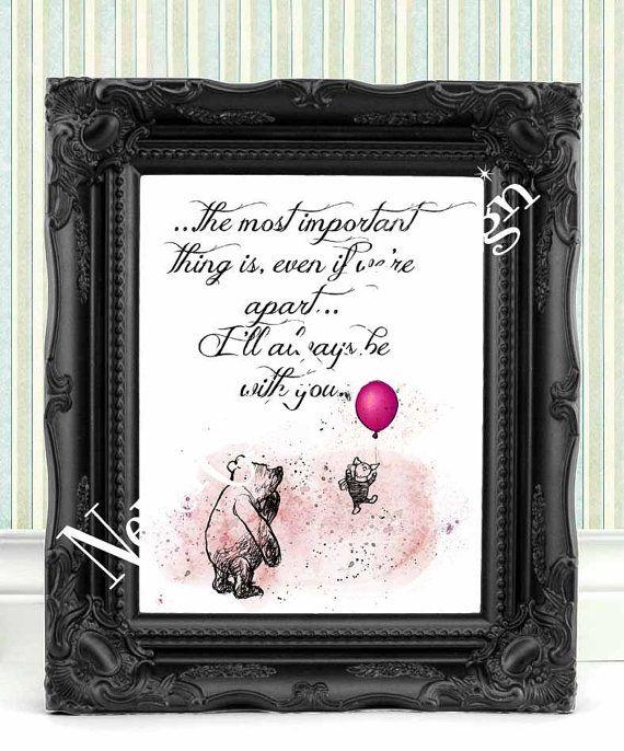 Winnie the Pooh Best friend Gift Winnie the by NeverGrowUpDesign