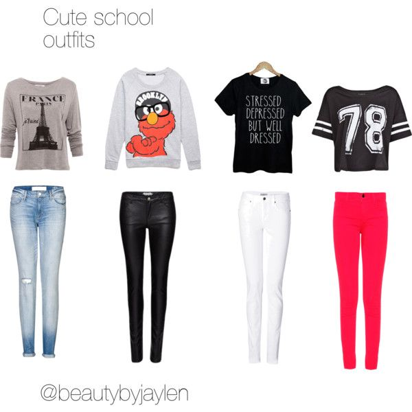 3ee59c2f50df6 Cute School Outfits for 11 Year Old Girl | for school cute school outfits  created by beautybyjaylen two years .