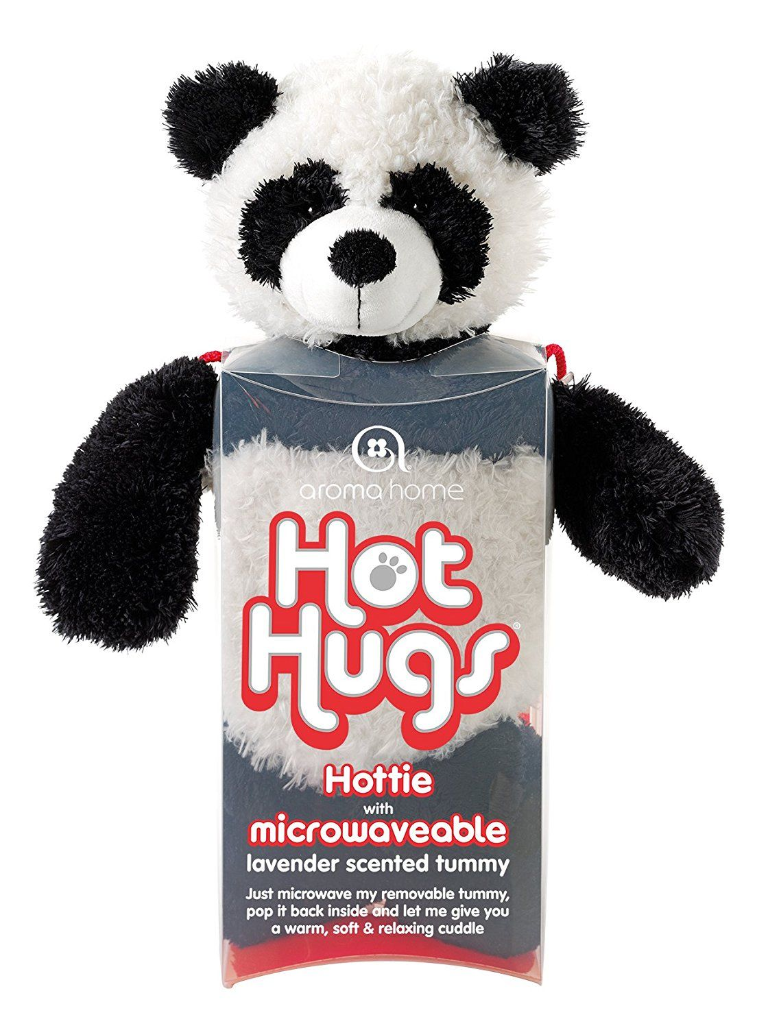 Aroma Home Microwavable Panda Hot Hugs Panda stuffed