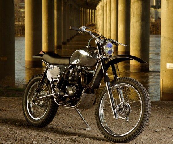 "Triumph ""RVA Overland"" by Atom Bomb Custom Motorcycles"