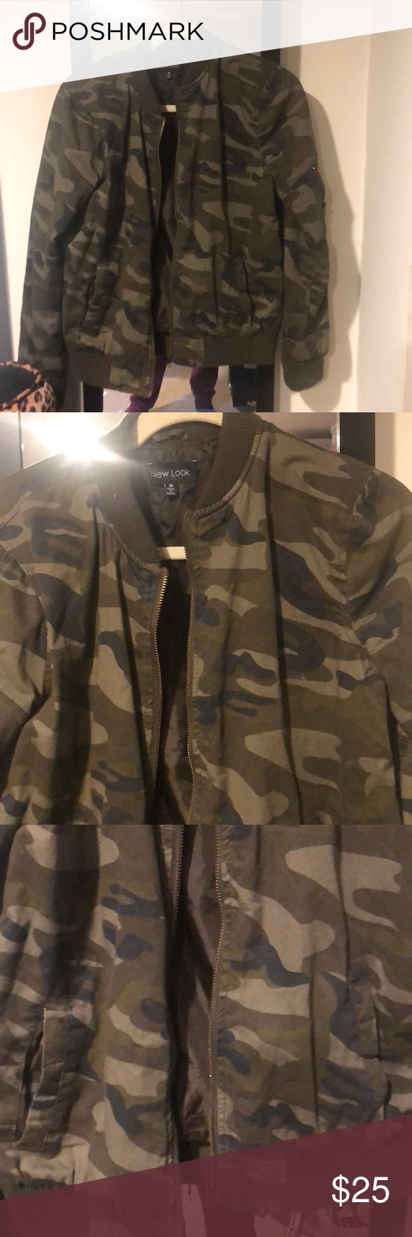 Army Print Bomber Jacket (With images) Printed bomber