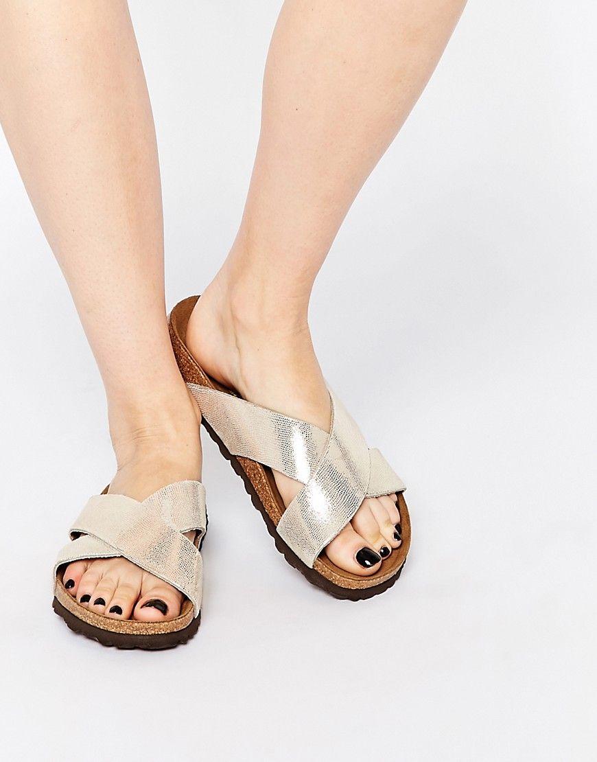 Birkenstock+Papillo+Daytona+Gold+X+Front+Slider+Flat+Sandals  8888826b7e6
