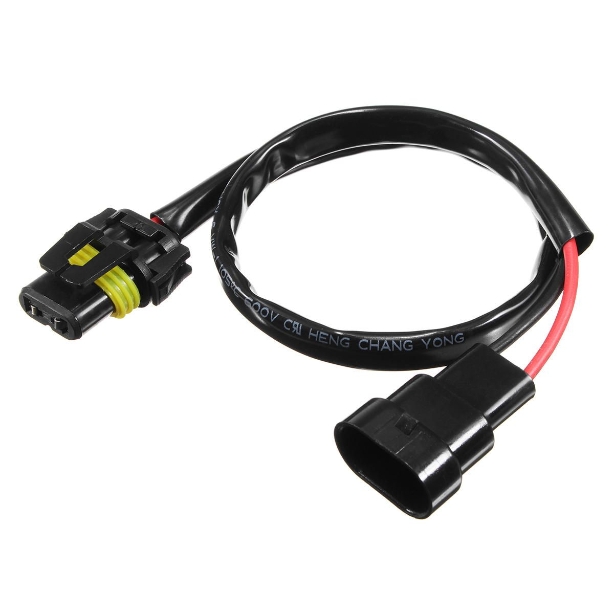 Us269 2pcs Hb4 Wire Harness Hid Xenon Power Cable Connector Wiring Ballast Socket Adapter Conversion