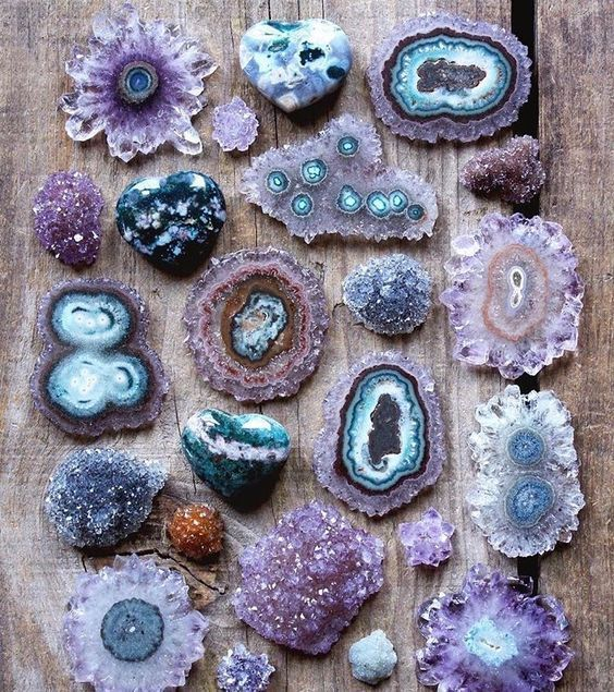 Photo of Amethyst Geode Slices
