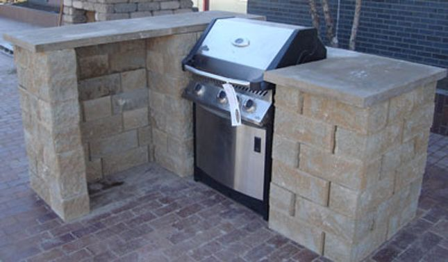How to Create an Affordable Outdoor Kitchen | Backyard ...