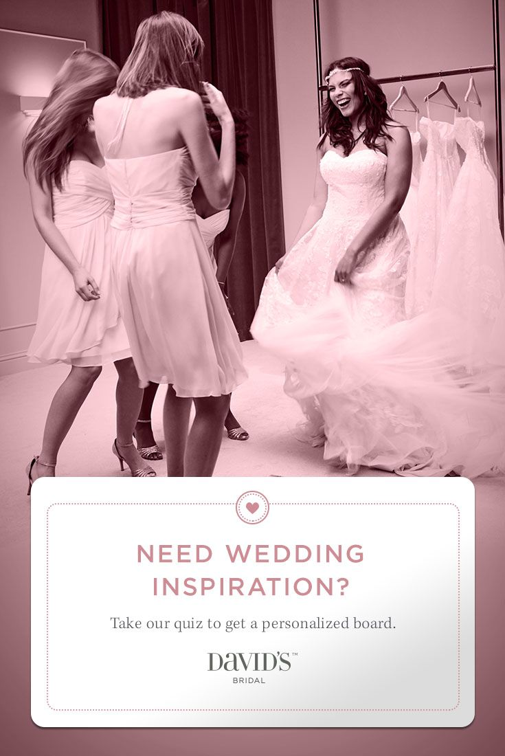 Dreaming of ways to #BeYourOwnBride? Take our quiz to get a ...