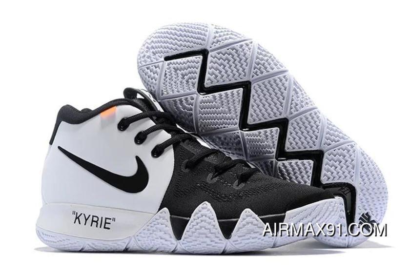 Off-White X Nike Kyrie 4 Black/White