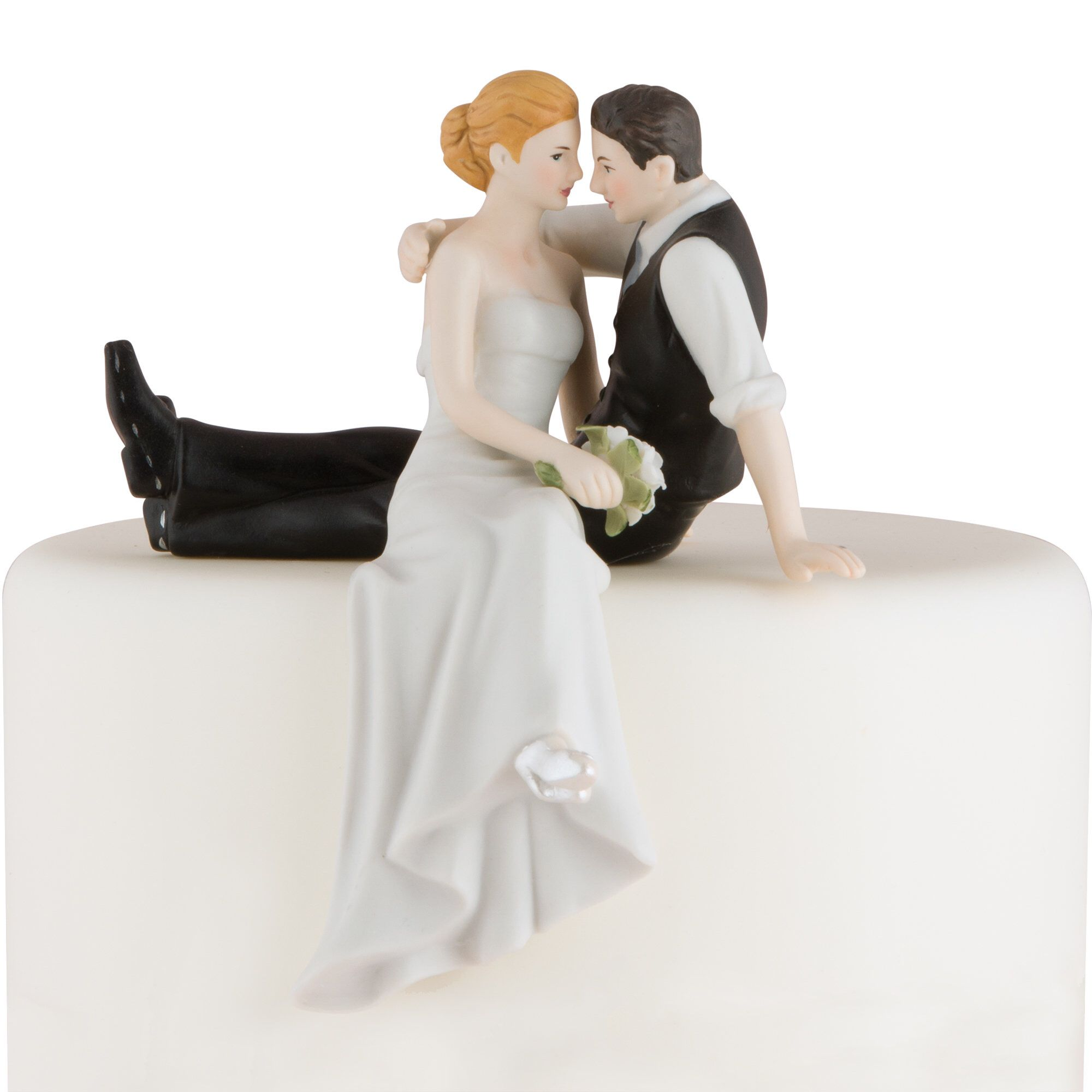 Love Bride And Groom Cake Topper Bride And Groom Cake Toppers Wedding Cake Fresh Flowers Wedding Cake Toppers