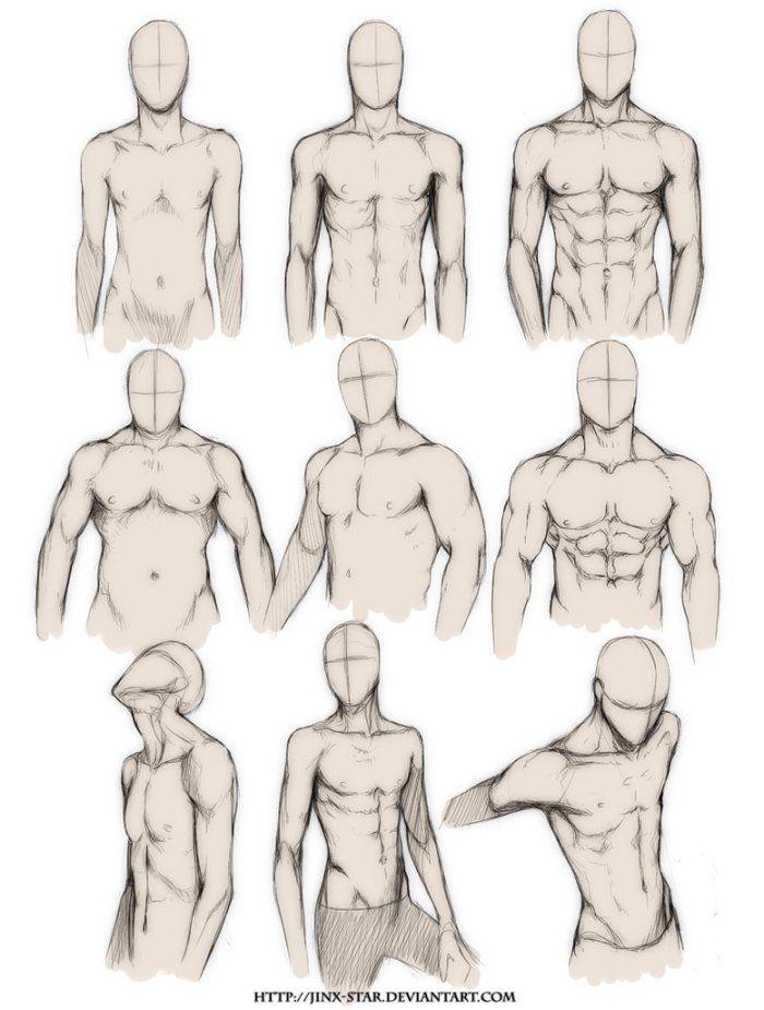 Aprenda a desenhar #2: Corpo Humano   Anatomía, Dibujo y Dibujar