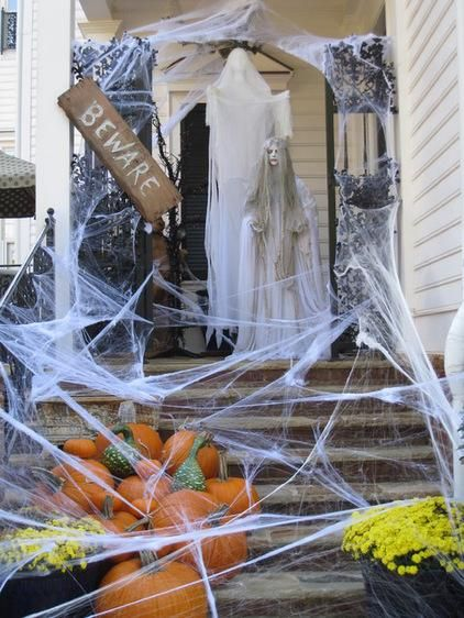 IDEAS & INSPIRATIONS: Halloween Decorations, Halloween Decor: Outdoor Halloween Decorations