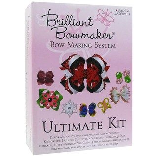 Little Pink Lady Brilliant Bowmaker Ultimate Bow Making Kit