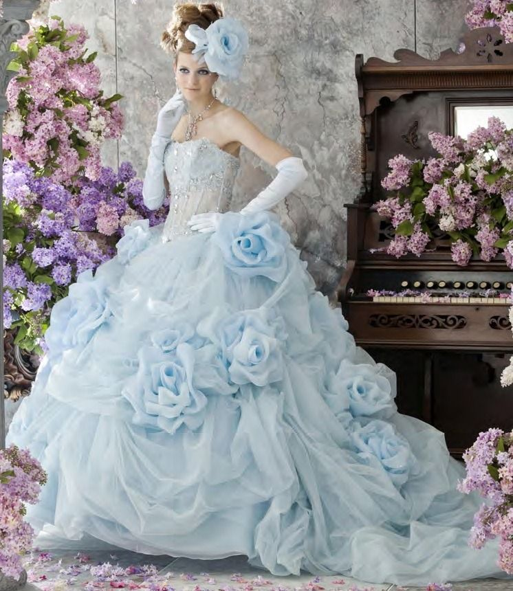 Baby Blue Wedding Reception Eight Percent Of Grooms Get A