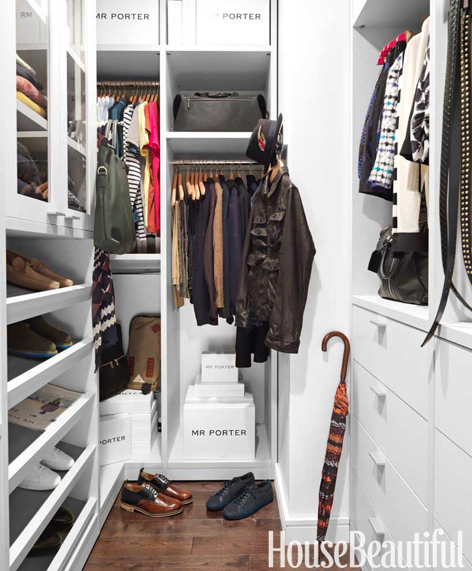 A Layered Tribeca Apartment California Closets Bedroom Organization Closet Men Closet