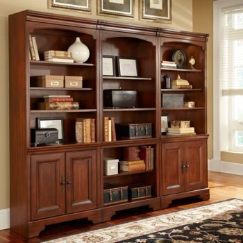 Possible Bookcases For Den Ryland 3 Piece Bookcase Wall