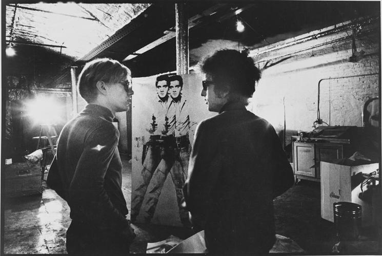 """NAT FINKELSTEIN """"Andy Warhol""""1966"""