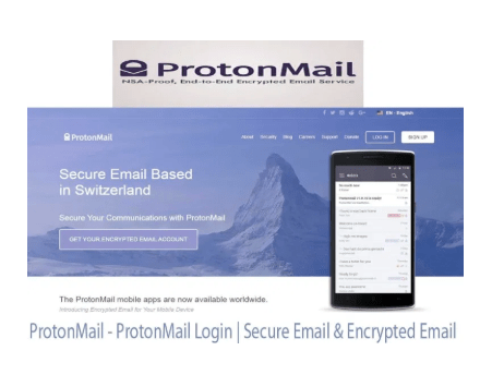 Protonmail Protonmail Login In 2020 Email Security Encrypted