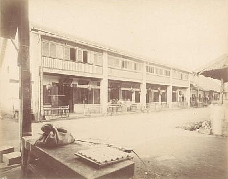 House Of Kapitan China In The 1880s Today It S Pacific Express Hotel Kuala Lumpur Singapore Street View