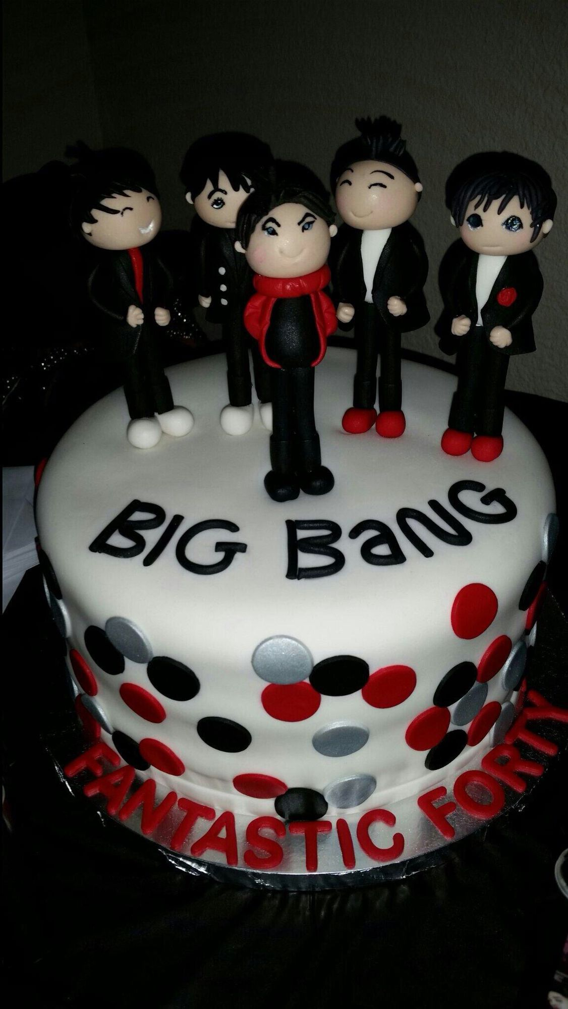 Awesome Kpop Big Bang Boy Group Cake