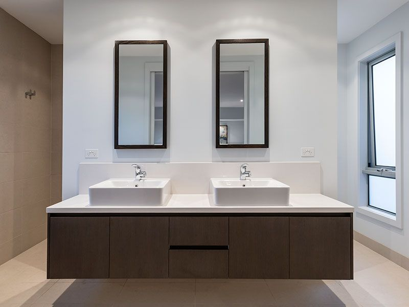 Delicieux Vanity With Walk Behind Shower And Toilet...just Make Mine Rustic