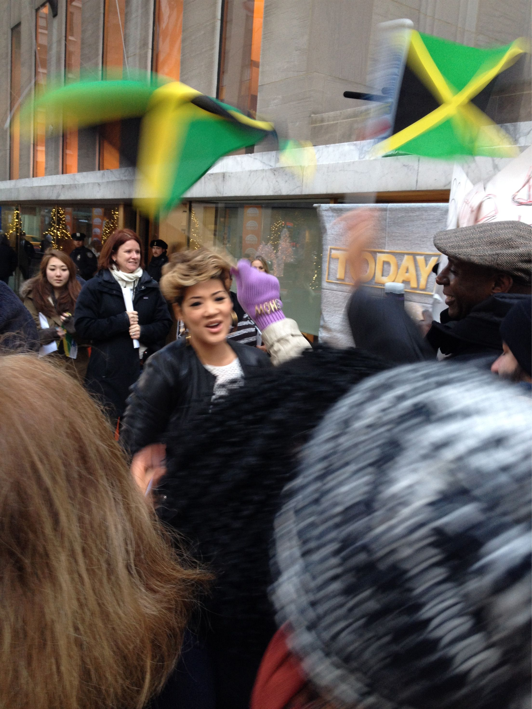 Tessanne Chin Greeting Fellow Jamaicans Ahead Of Her Appearance On