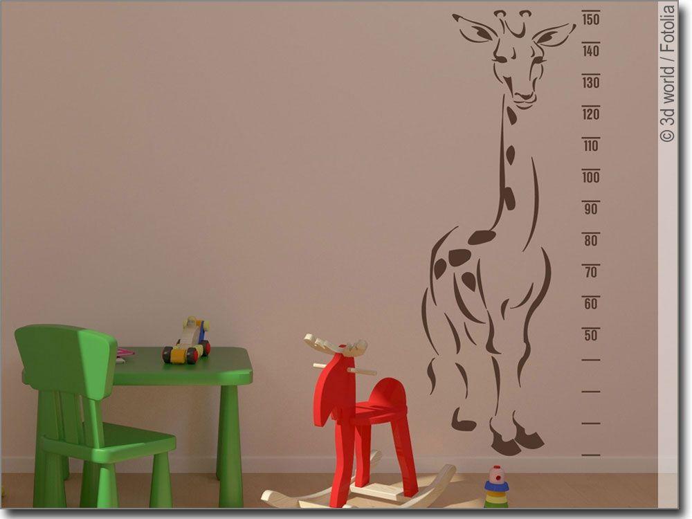 Wandsticker Giraffe Messlatte In 2018 Wandtattoo Kinder Und