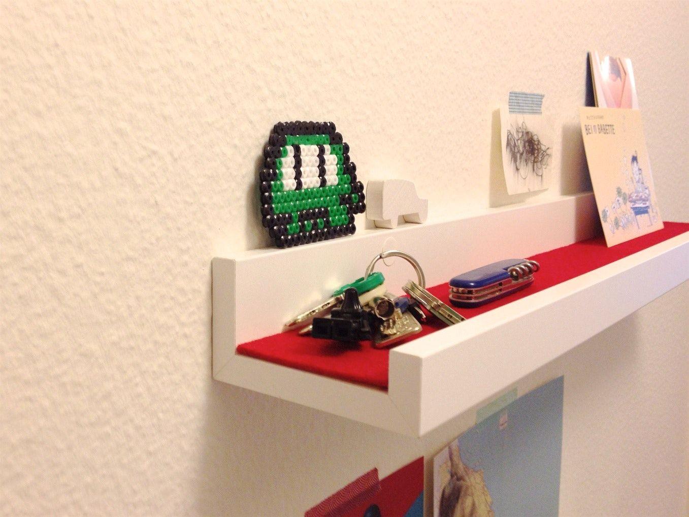 Moderne Deko Idee 4 Aufdringlich Ikea Bilderleiste Mosslanda Auf ...