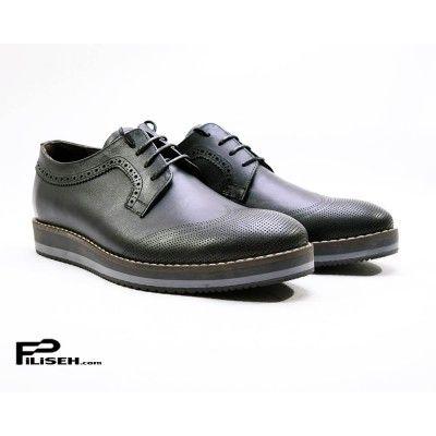 88b4c3842b151 کفش رئال REAL خرید کفش مشکی اسپرت | فروشگاه پیلیسه #کفش #کفش_مردانه  #خرید_کفش