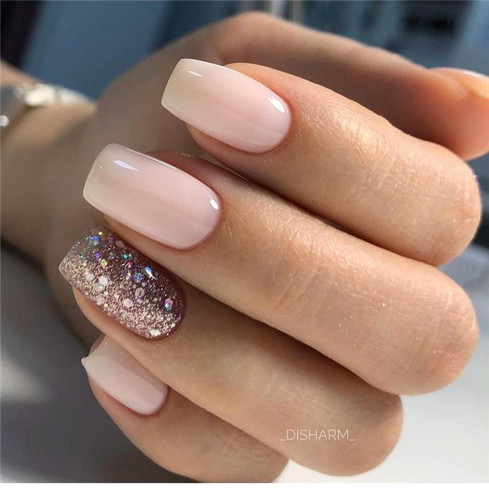 100 Pretty Winter Nail Design Ideas 2019 – Soflyme