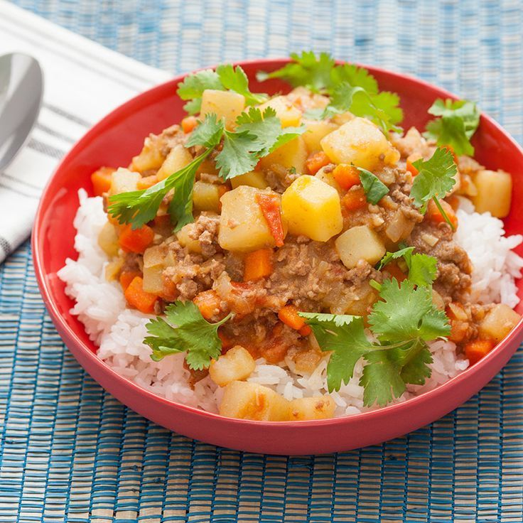 Filipino-Style Beef Picadillo with Chayote Squash & Jasmine Rice  Blue apron  Chayote recipes #chayoterecipes