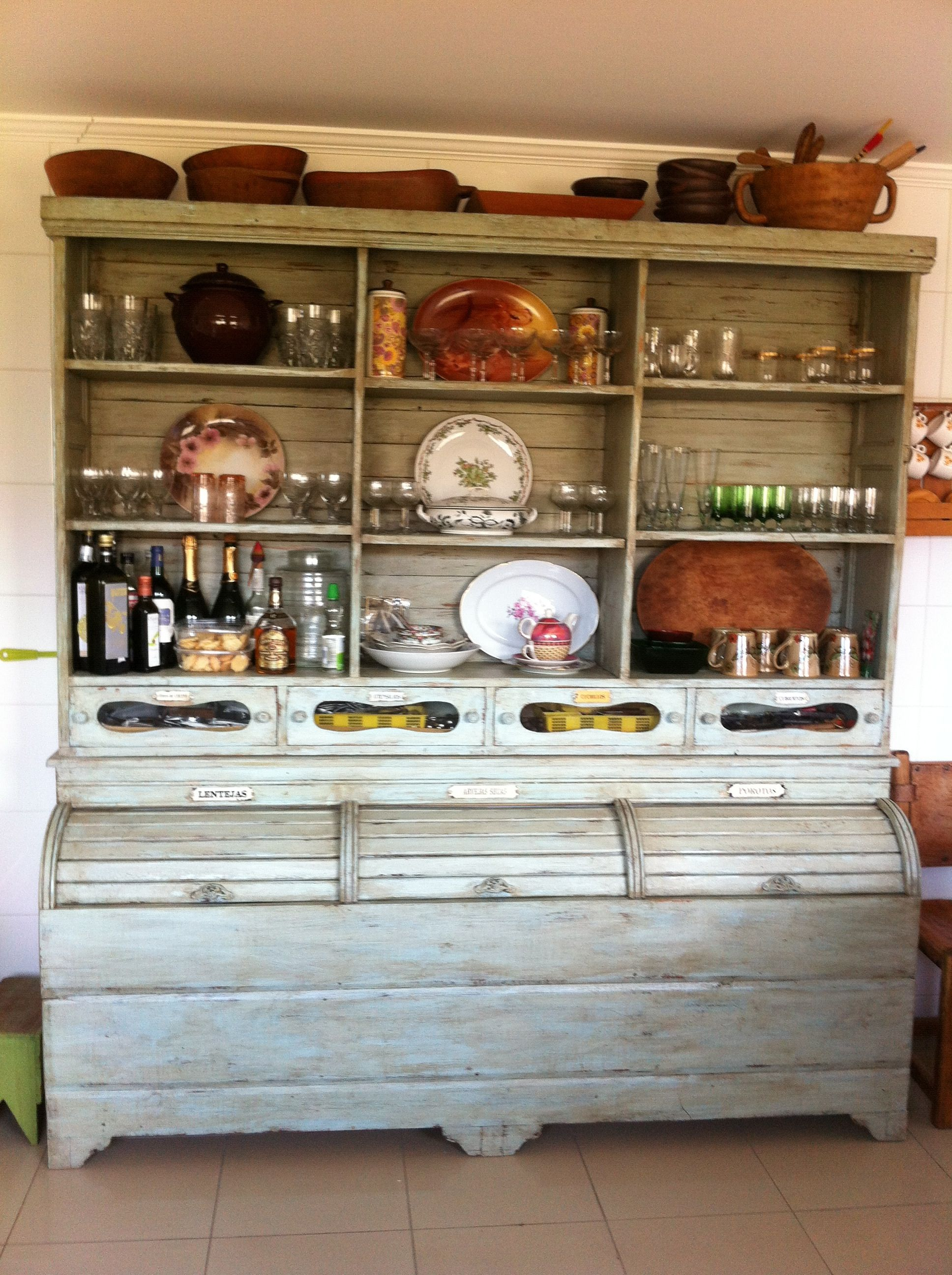 Antiguo mueble de cocina/ old kitchen furniture | Ideas para ...