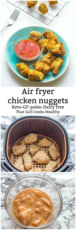 Air fryer chicken nuggets {Keto, GF, Paleo} Recipe Low