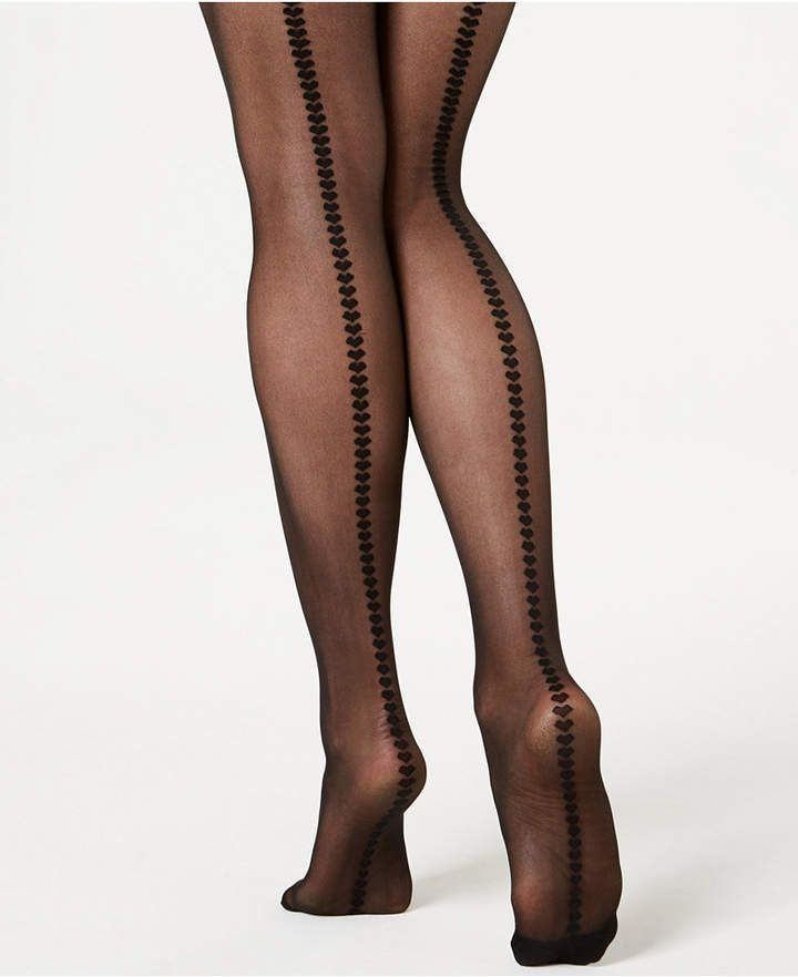 555f9f12dc3b0 I.N.C. Hearts Back-Seam Tights, Created for Macy's in 2019 ...