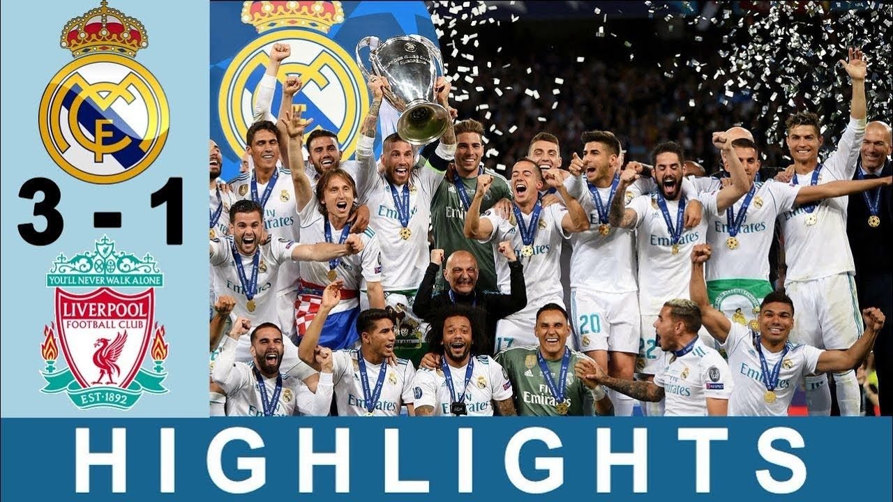 Real Madrid vs Liverpool 31 UCL Final 2018 Highlights