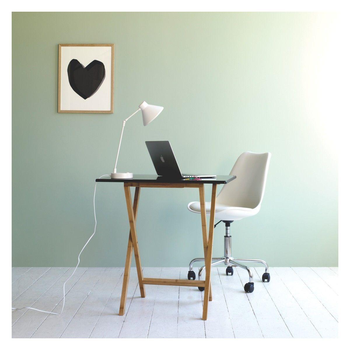 GINNIE White Office Chair