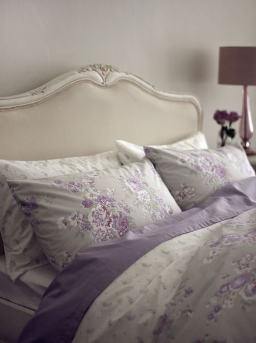 Shabby Chic I Love The Orchid Color Bedding Beautiful