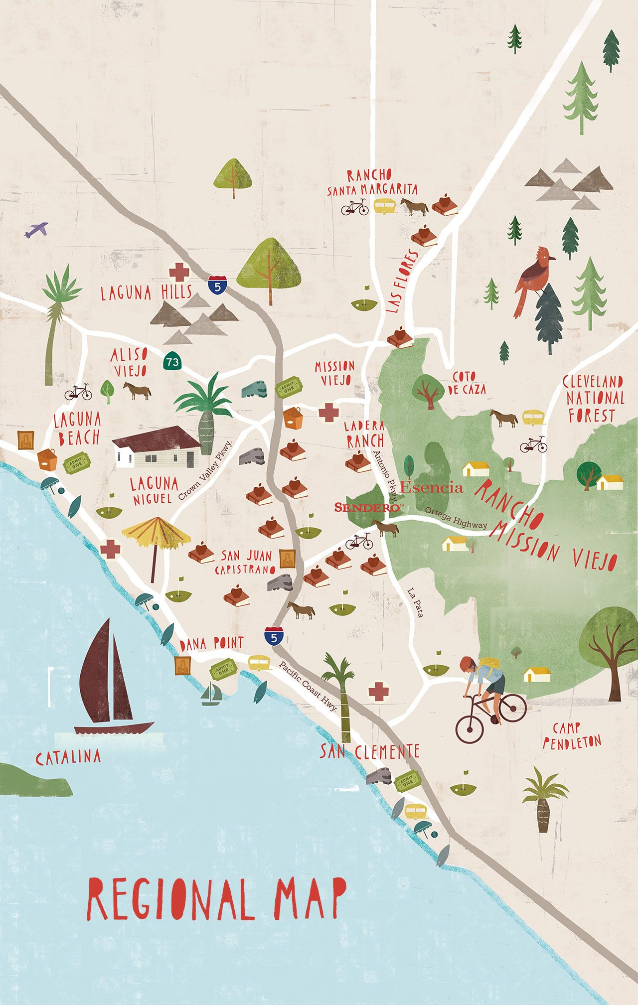 Mission Viejo California Map