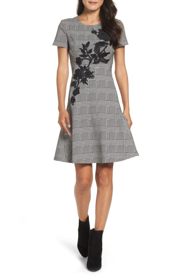 Main Image - Betsey Johnson Fit & Flare Dress