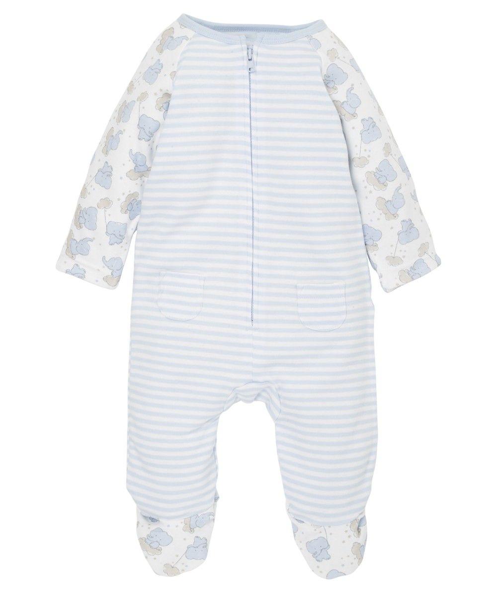 9549eebf1 Mothercare Pijama Acolchado Elefante Celeste - Mothercare.