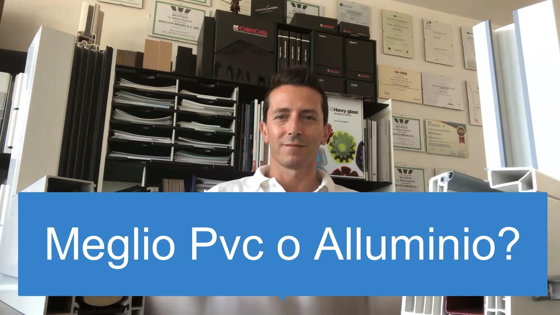 Serramenti Pvc O Alluminio Opinioni pvc o alluminio: quali sono gli infissi migliori?   (con  video) | lettura, illustrazioni, video