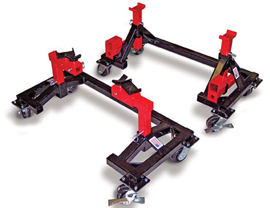 Easy Access Car Dolly  Steel Valley Lifts  Garage tools