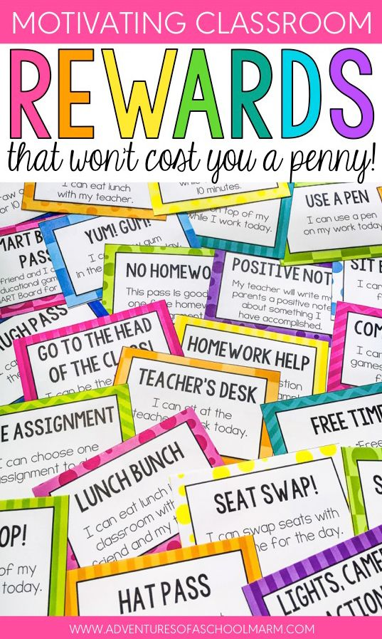 Classroom Reward Ideas That Don T Cost Money : Classroom rewards that won t cost you a penny