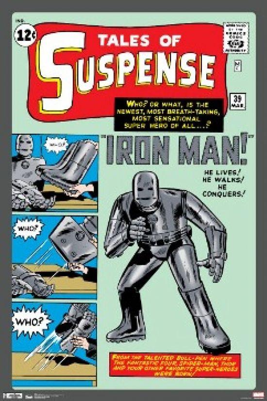 Marvel Iron Man Cover Poster Print (24 X 36) - Item # SCO5702 - Posterazzi