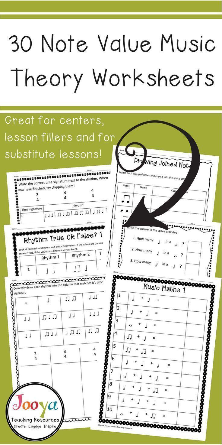 music theory exercises pdf free