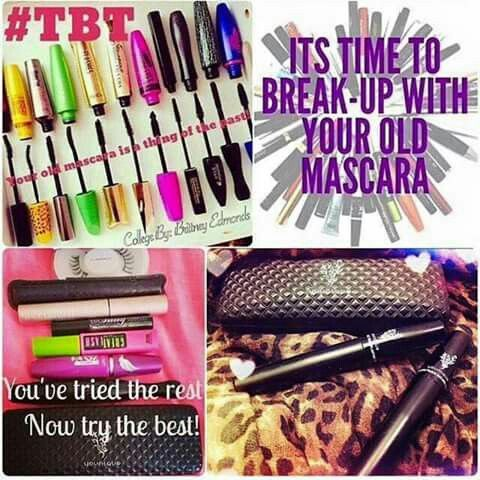 Out with the old in with the new! Try our amazing products from YOUNIQUE especially our 3d fiber lash mascara! Heres the link! www.youniqueproducts.com/HayleyAlexander