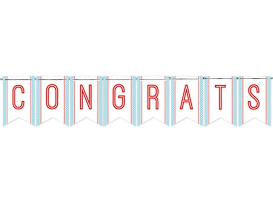 photograph regarding Congratulations Banner Free Printable named congratulations banner printable -