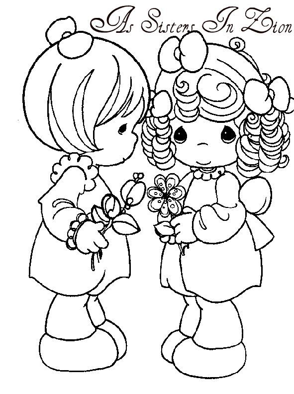 It's just a graphic of Precious Moments Printable Coloring Pages within art