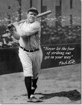 Once considered the king of strikeouts, Babe Ruth would now be listed as a contact hitter as strikeout numbers skyrocket
