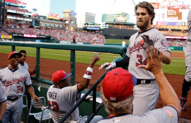 Monday's Sports Minute: Harper leads All-Star voting - WINA AM 1070