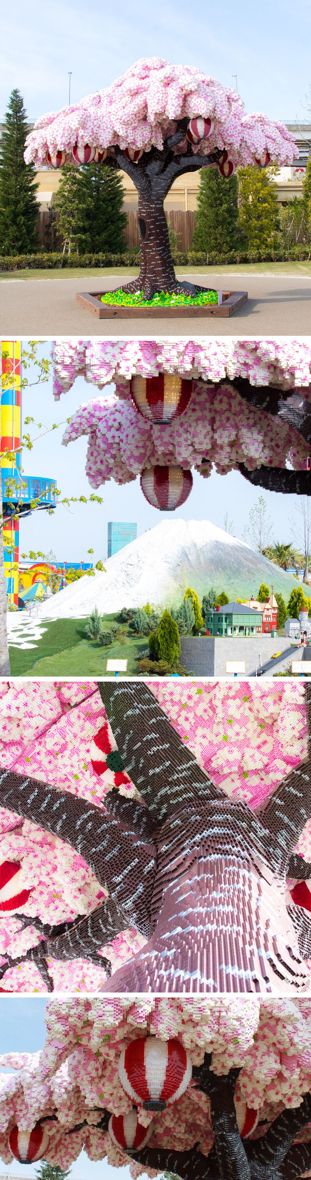 The World S Largest Lego Cherry Blossom Tree Blooms In Japan Sky Art Cherry Blossom Tree Cool Artwork